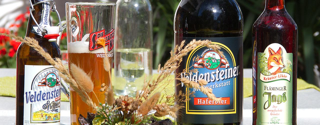 Gastlichkeit genießen - am besten mit einem ausgezeichneten Bier aus der Fränkischen Schweiz ..